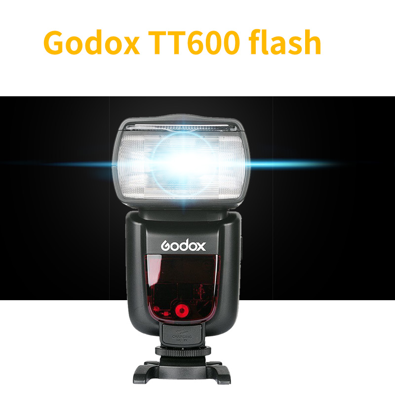 Godox TT600 Camera Flash GN60 Master/Slave 2.4G Wireless Speedlite for Canon Nikon Pentax Olympus Fujifilm spash sl 685c gn60 wireless master slave flash light ttl speedlite for nikon lcd screen cameras flash adjustable fill light