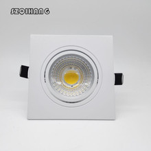 Factory Wholesale price 10W/15W Dimmable Recessed COB Hight light  Led Ceiling Down + driver AC110V/AC220V/AC230V