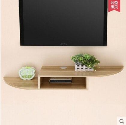 Tv Set Top Box Racks Creative Partition Wall Rack Shelf