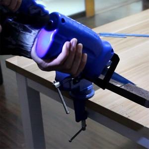 Image 5 - ALLSOME Säbelsäge Metall Schneiden holz Schneiden Werkzeug bohrmaschine befestigung mit 3 klingen Power Werkzeug Zubehör HT1569