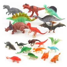 20pcs/set Jurassic World dinosaur fossil dinosaur model toys for children boys plastic action figures animals brinquedos kids