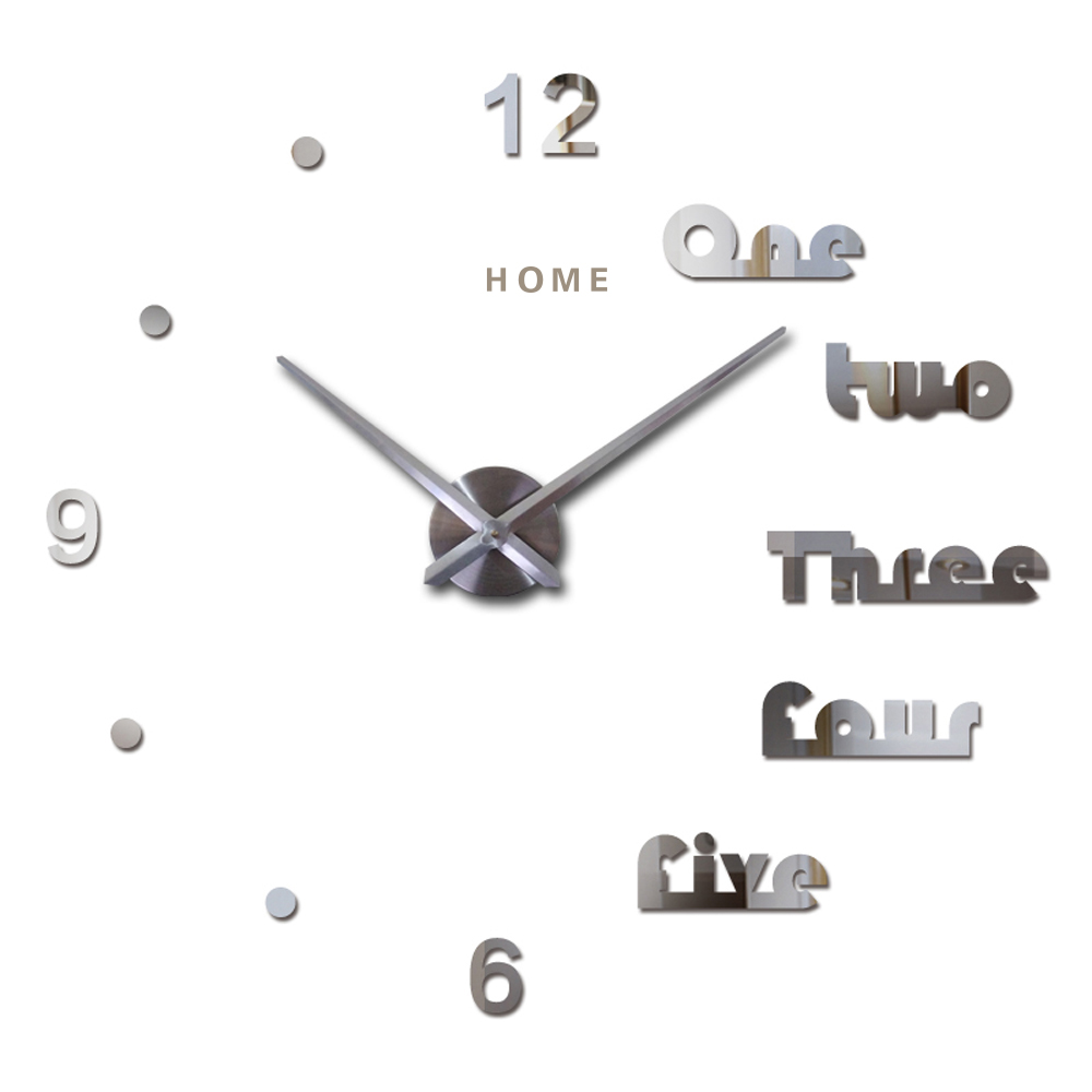 ộ_ộ ༽Home English Letters Arabic Digital Wall Clock 2016 3D Diy ...