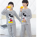 Hot Mickey Clothing Sets Boys Sleepwear Cute Girls Nightwear Children's Clothes for Boys Leisure Wear for Girls Homewear
