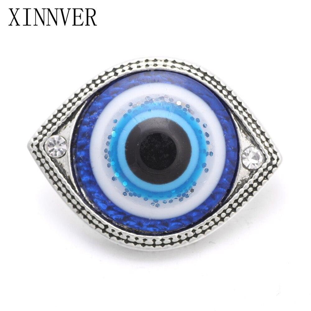 10pcs lot 18mm font b Crystal b font Eye Snaps font b Jewelry b font Mixed