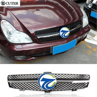 Hot Sell W219 CLS300 CLS350 CLS500 CLS55 ABS Car Mesh Grille Front BUmper Grills For Benz