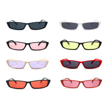 2019 Vintage Small Square Sunglasses Women Brand Designer Retro Sunglass Rectangle Sun Glasses Female Candy Color Eyewears