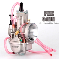 Universal 28mm 30mm 32mm 34mm PWK Motorcycle Carburetor Carburador For Keihin Mikuni Koso For ATV Suzuki Yamaha Honda Power Jet