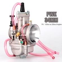 Universale 28 millimetri 30 millimetri 32 millimetri 34 millimetri 2T 4T PWK Moto Carburatore Carburador Per Mikuni Koso per ATV Suzuki Yamaha Honda Power Jet