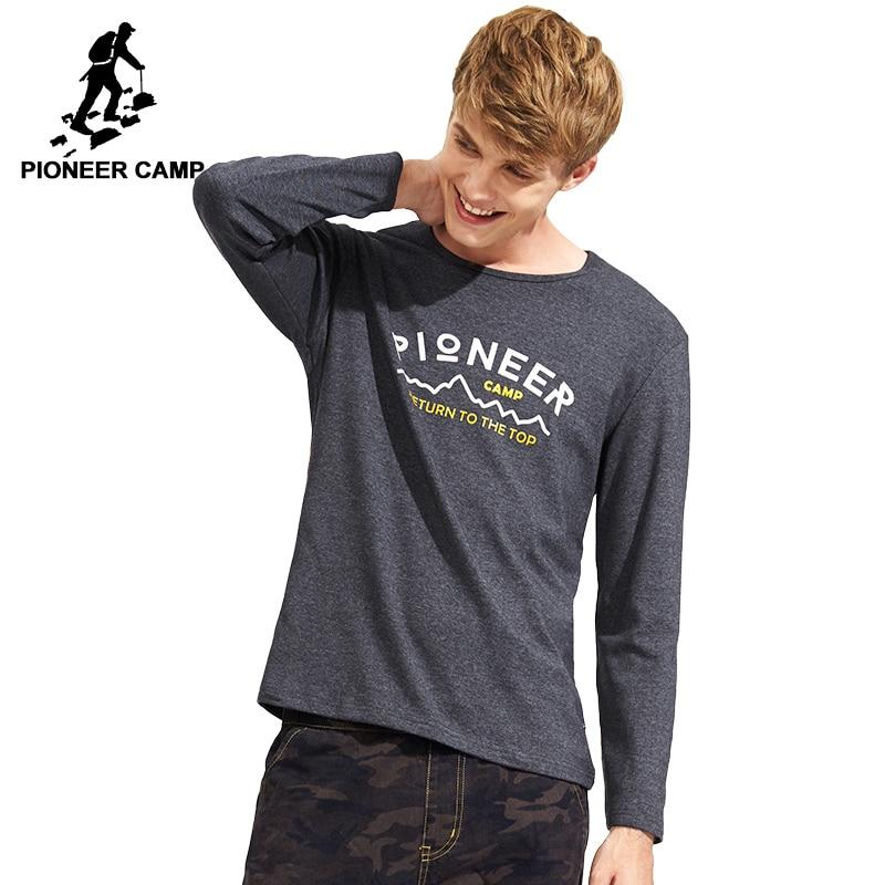 Pioneer Camp Men T Shirt New 2017 Cotton Simple Print: Aliexpress.com : Buy Pioneer Camp Fashion Print T Shirt