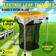 Blatt Knospe Trimmer 18 zoll Tisch Hydrokultur 3 Geschwindigkeit Elektrische Blatt Knospe Trimmer Trim Reaper W/ 6 Extra Klingen