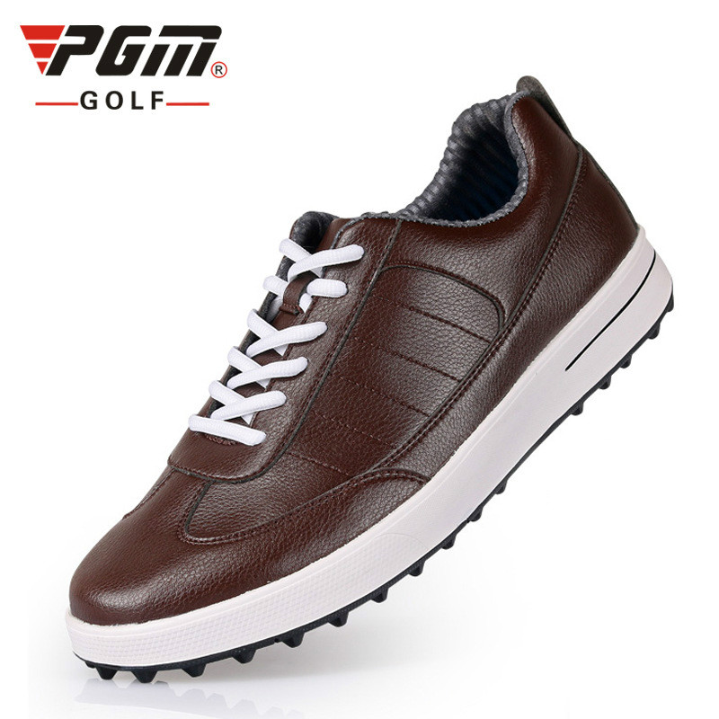 PGM Authentic Golf Shoes men Waterproof Anti-skid High Quality male Sport Sneakers Breathable Shoes pgm men golf shoes breathable athletic sneaker plus size 39 46 mesh sport shoes pu waterproof professional golf shoes for men