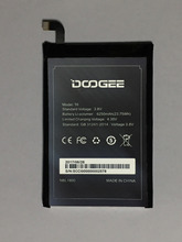 DOOGEE T6 Battery 6250mAh 100% Original New Replacement accessory accumulators For Smart Phone + Free Shipping