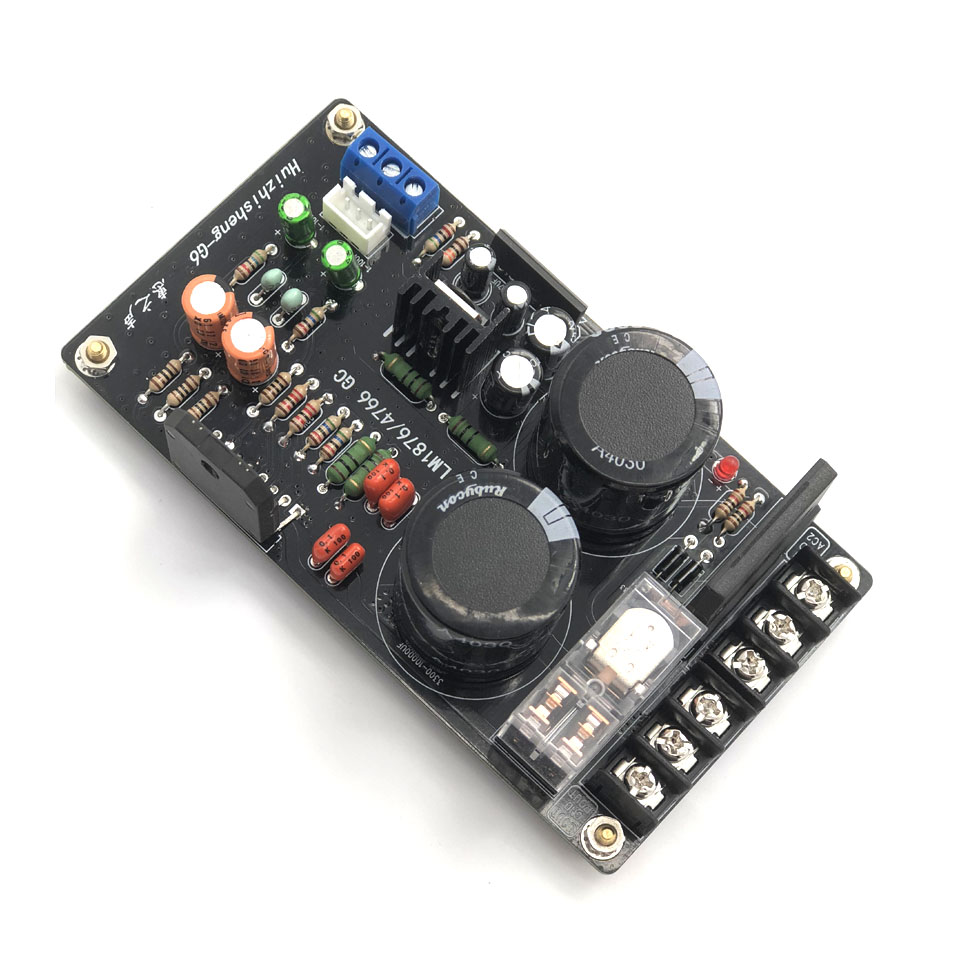 Lm1876 Digital Amplifier Audio Board Dual Channel 60w 2n3055 Power Amplificador Audiofor 4 8 Ohm Speaker In From Consumer Electronics On