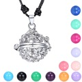 Summer Locket Pregnancy  Bola Colorful Zinc Alloy Hallow Out Flower Women /Girl/Baby Gift Whisper Chime Mexico Pregnancy Ball