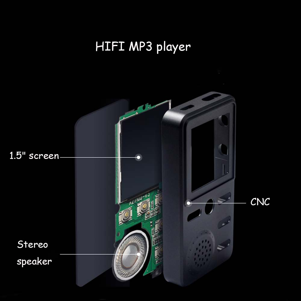 E3493-Metal MP3 Player-7