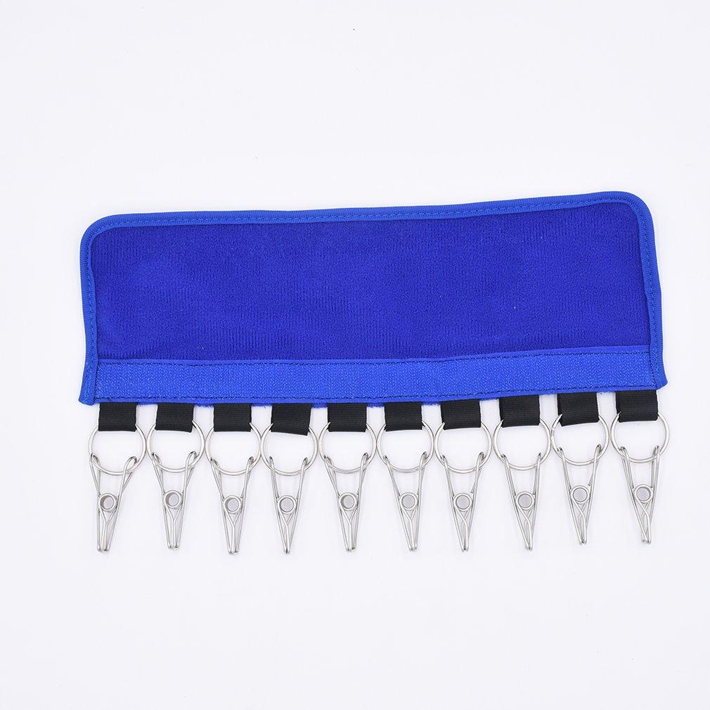 Light Portable Cloth Clip Socks Dry Travel Folding Hanger Clips Bathroom Bedroom Multifunction Clothespin