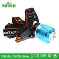 Waterproof 3800LM CREE XML T6 LED head lamp 18650 head projector front light 3 modes focus beam headlights