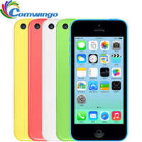 "Desbloqueado Apple iphone 5C RAM 8G 16 & 32 1G ROM iOS iphone 5c Dual Core TouchScreen WI-FI GPS GSM HSDPA 8 Câmera 5.0mpix 4.0 ""iphone 5c"