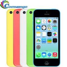 Разблокирована apple iphone 5c ram 1 г rom 8 г 16 & 32 ios iphone 5c Двухъядерный Сенсорный Экран WI-FI GPS GSM HSDPA 8 Мп Камера 4.0 «iphone5c