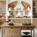 Современное украшение для дома  3 головки  светильник для птиц  подвесной светильник для столовой  стеклянный железный светильник  бесплатн...