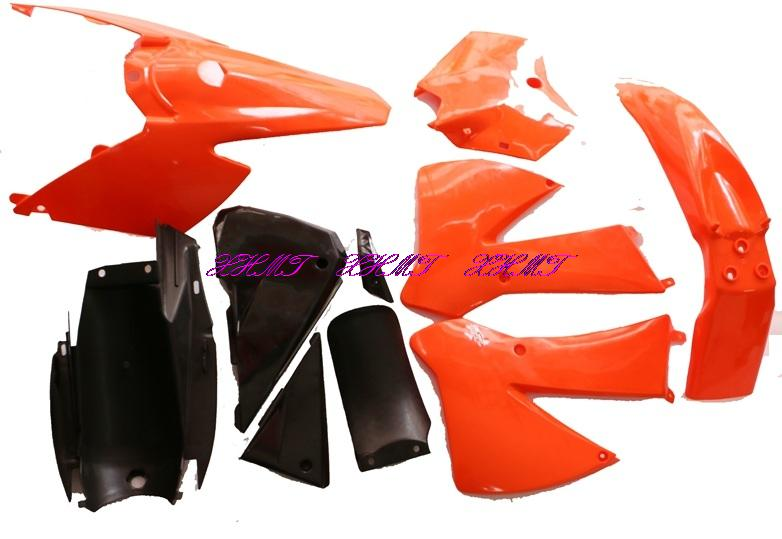 Plastic Bodywork Fairing Body Kit for KTM250 KTM 250 Dirt bike which MADE IN CHINA plastic mould in hight quality and low price useing plastic injection mould made in china