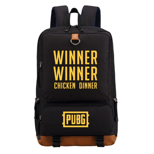 e3d01b84cf WISHOT PUBG Player unknown's battlegrounds Backpack Shoulder travel School  Bag Bookbag for teenagers men women Laptop