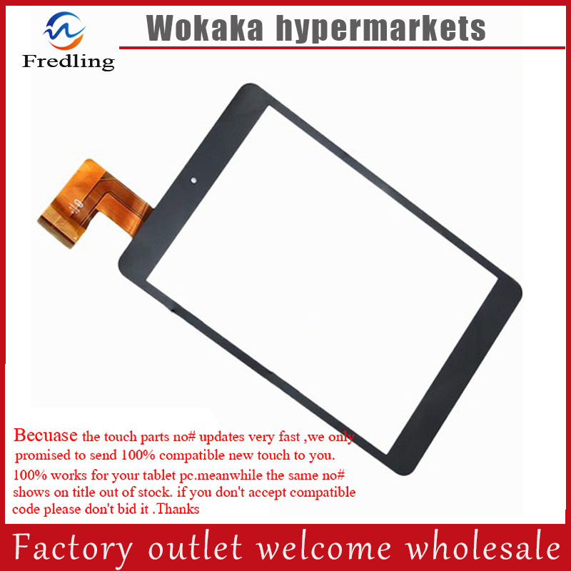 New 7.9 Inch Touch Screen Digitizer For Road M3C Tablet PC Black QSD E-C8037-02 HS1282 V190 FM801701KC 10pcs lot free shipping qsd e c8004 07 touch touch screen