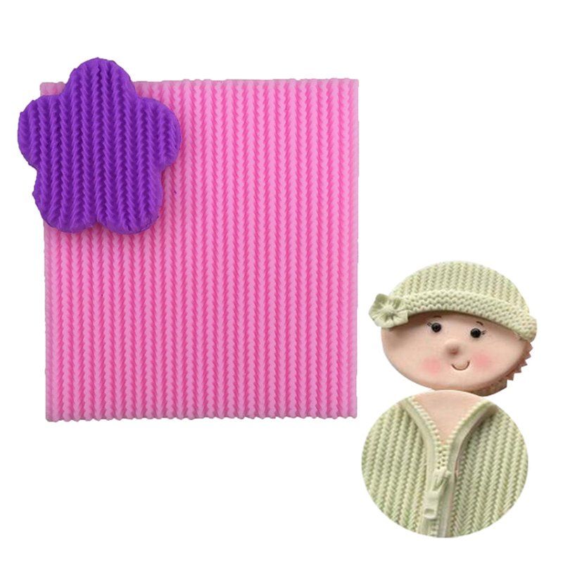 Knitting Cake Mould : Aliexpress buy needle knitting wool texture lace