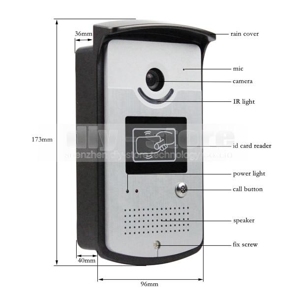 Xinsilu Intercom System Direkt Drücken Sie Die Taste Audio Tür Telefon Für 14 Wohnungen 4-wired Audio Türsprechanlage Mit Hand Free Indoor Einheiten Sicherheit & Schutz