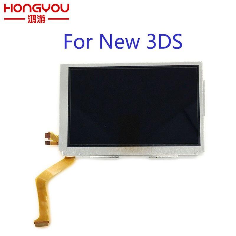 Оригинальный Новый Сменный ЖК-экран для New3DS, новый верхний ЖК-экран для Nintendo 3DS