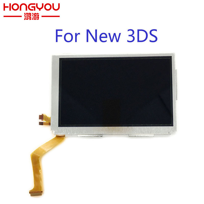 original new Replacement For New3DS LCD Screen Display For Nintendo NEW 3DS Upper LCD Screen3ds upper screenlcd 3dsnintendo 3ds lcd -