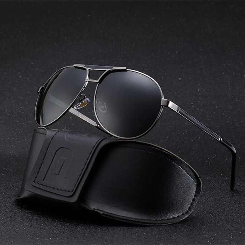 Polarized Sunglasses for Men Metal alloy Vintage Sunglasses Women Driving the Sun glasses Men Fishing Glasses occhiali da sole