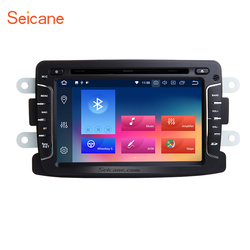 Seicane Android 8 0 7 Inch 1Din Car Radio Stereo font b GPS b font Multimedia
