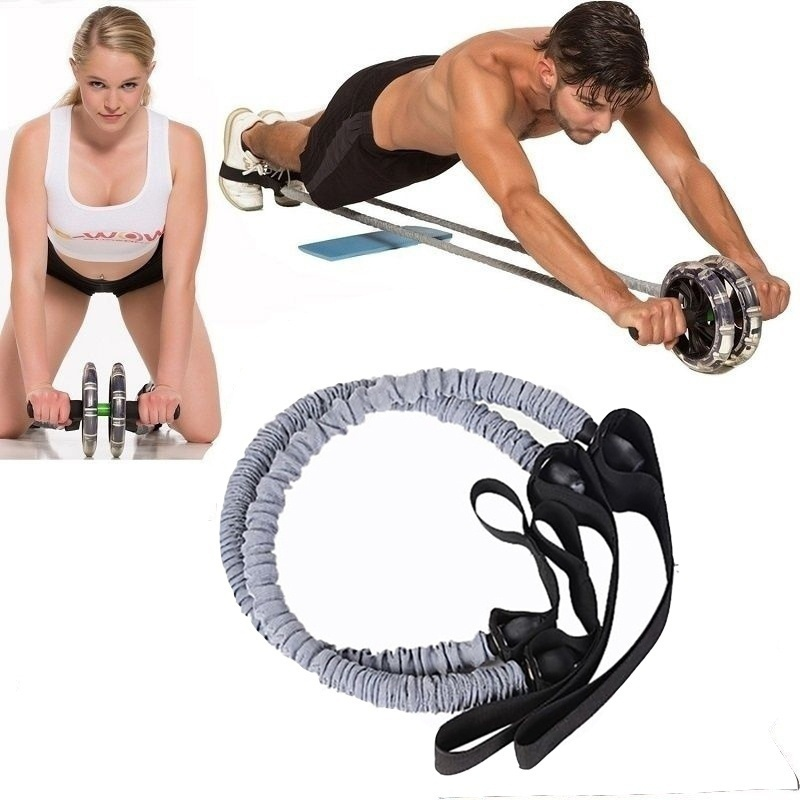 1 Pcs Resistance Training Bands Tube Workout Exercise for Yoga Fashion Body Building Fitness Equipment Tool