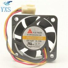 FD124010EB 4 см 4010 40*40*10 мм DC 12 В 0.12A 1,44 Вт 7500 об./мин. махрово сервер вентилятор охлаждения