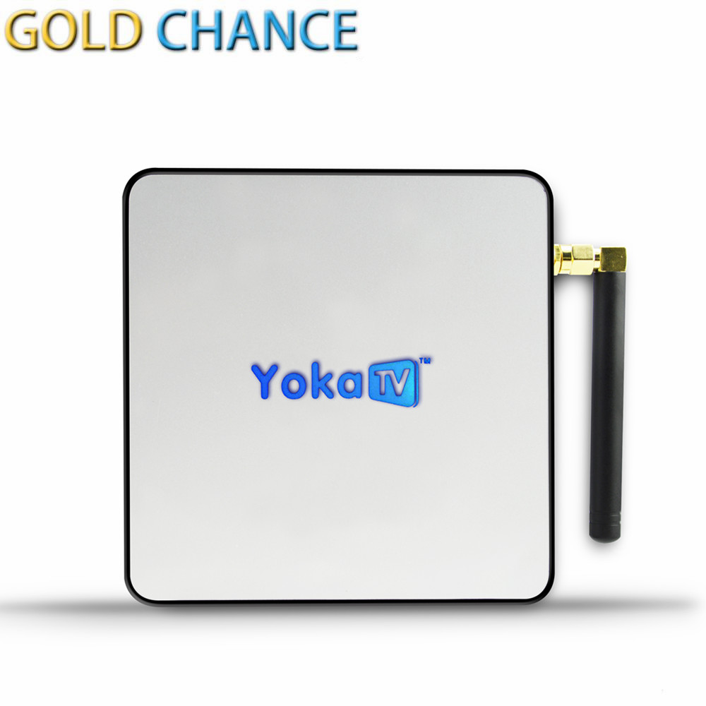 YOKATV KB2 PRO Amlogic S912 Android TV Box 64bit Octa core ARM Cortex-A53 3G/32G Android 6.0 TV Box WiFi bt4.0 2.4G/5G 4K Player