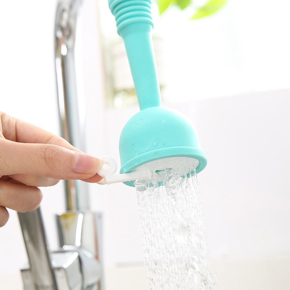 Creative Kitchen Faucet Water-saving Filter Shower Water Rotating Spray Tap Water Filter Valve Kitchen Bathroom Accessories