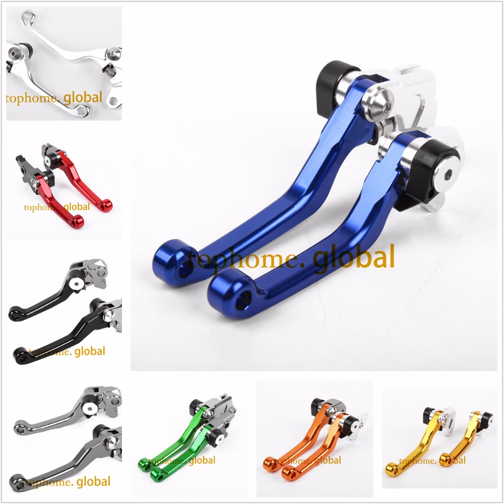 For Yamaha TTR250 1993 - 2013 CNC Pivot Brake Clutch Levers Pair 2005 2004 2003 2002 2001 2000 1999 1998 1997 1996 1995 1994
