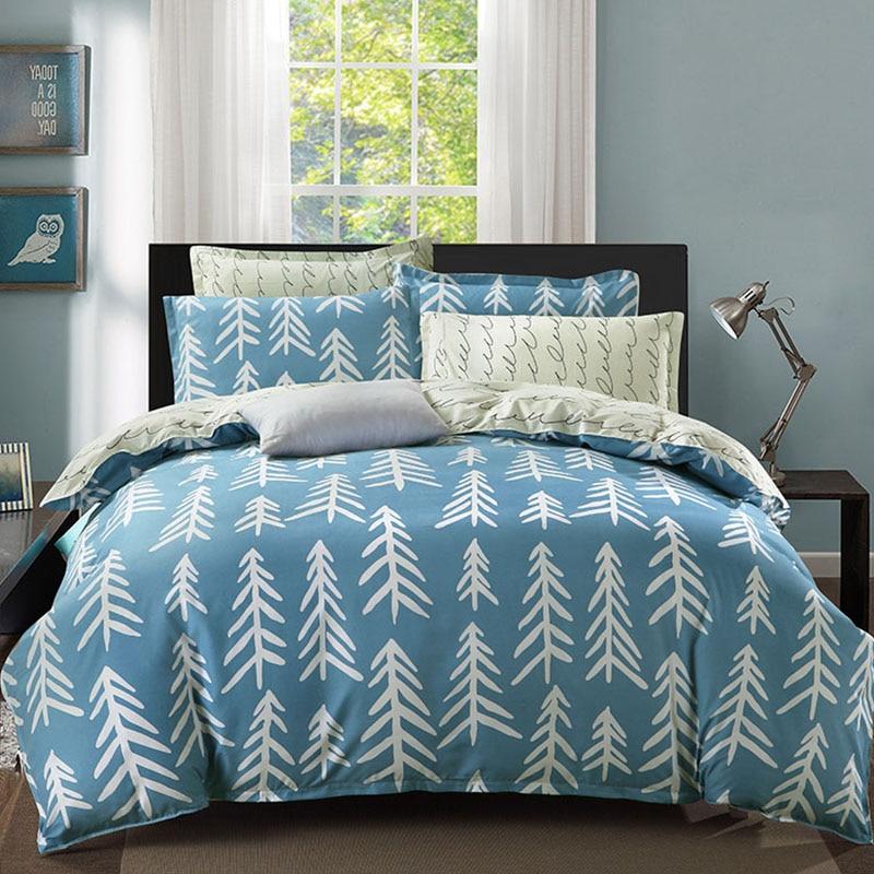 Comfortable bedding set duvet cover set Twin/Full/Queen/King size quilt cover set duvet cover bed sheet pillowcase set