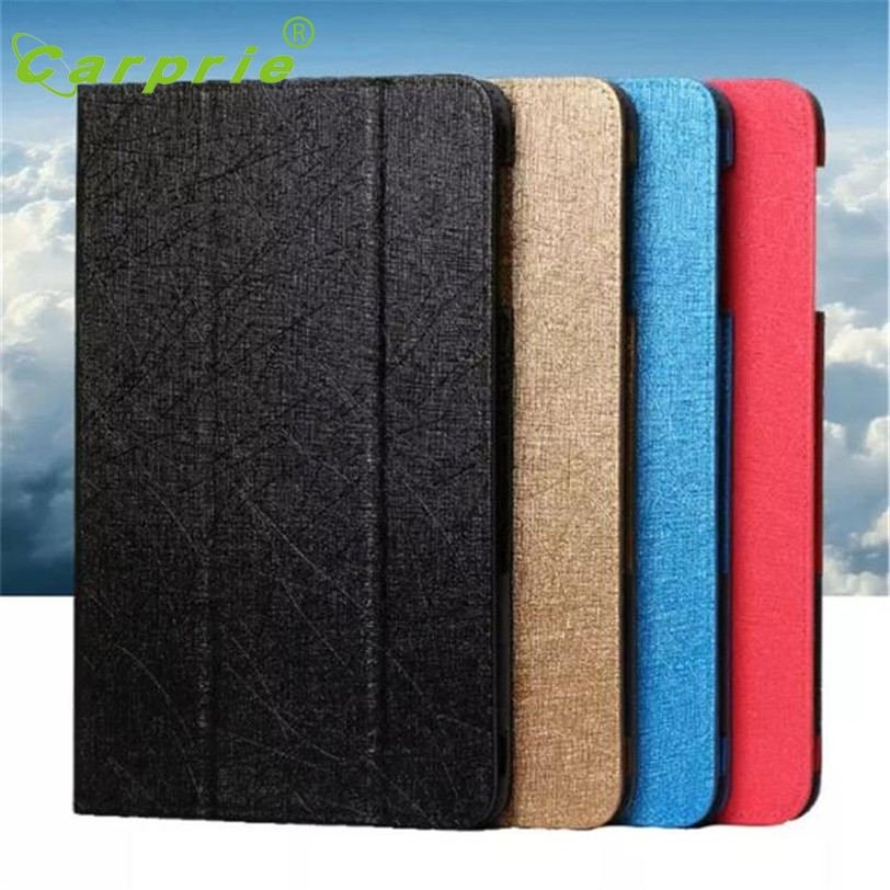 CARPRIE Case For Huawei 9.6 inch Silk Leather Stand Cover Tablet Case For Huawei MediaPad T1-A21 Mar1 MotherLander