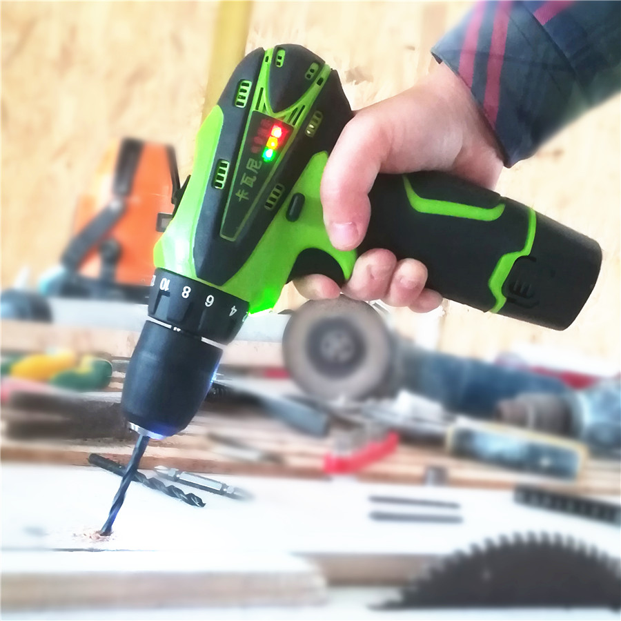 Cheap Price 12v Electric Screwdriver Lithium Battery Rechargeable Parafusadeira Furadeira Multi-function Cordless Electric Drill Power Tools Clients First