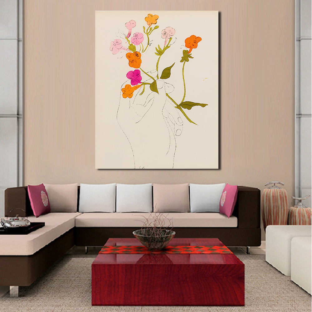 JQHYART Still Life Pop Art ANDY WARHOL A Gold Book 1957 Canvas Home Decor Wall Pictures For Living Room In Painting Calligraphy From Garden On