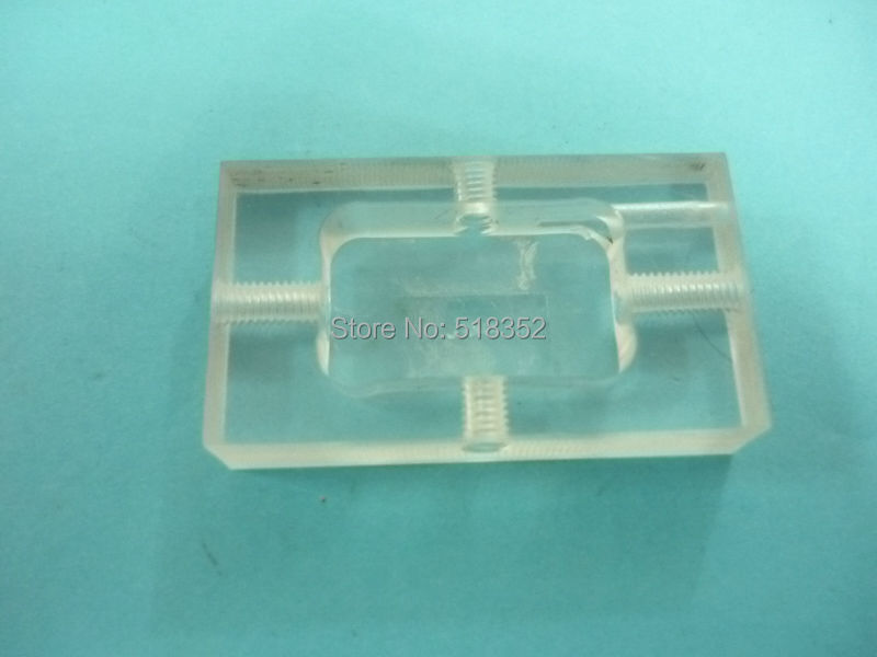 Acrylic Pedestal Seat for Power Feed Contact, Stand Holder Plate for ...