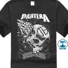 Pantera Tee Shirt Black Graphic Print Heavy Metal Rock Band