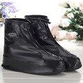 Reutilizáveis Tampas Da Sapata Lisa Sólida Simples Mulheres Homens Sapato Cobre À Prova D' Água À Prova de Chuva Galochas HSF13 Slip-resistente