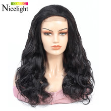 Body Wave Wig 4X4Lace Closure Wig Human Hair Closure Wig Bodywave Short Lace Wig Peruvian Hair Wigs Remy Hair Nicelight 8-24Inch(China)