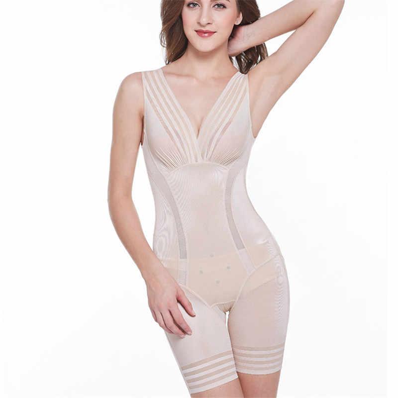 0735d79fd4 ... New 2019 Ladies Slimming Bodysuits Shapewear for Women Ultra Thin High  Waist Shaping Panty Deep V