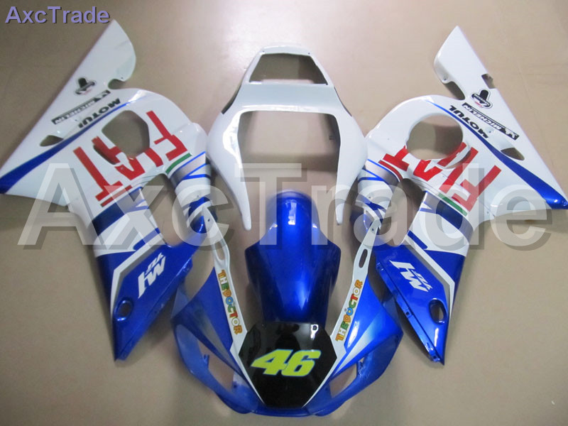 Bodywork Moto Fairings FIT For Yamaha YZF600 YZF 600 R6 YZF-R6 1998-2002 98 - 02 Fairing kit Custom Made High Quality ABS C815 keoghs real adelin 260mm floating brake disc high quality for yamaha scooter cygnus modify