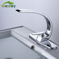 Wholesale And Retail Chrome Polished Bathroom Basin Mixer Tap Single Handle Faucet With 10 Inch Hole