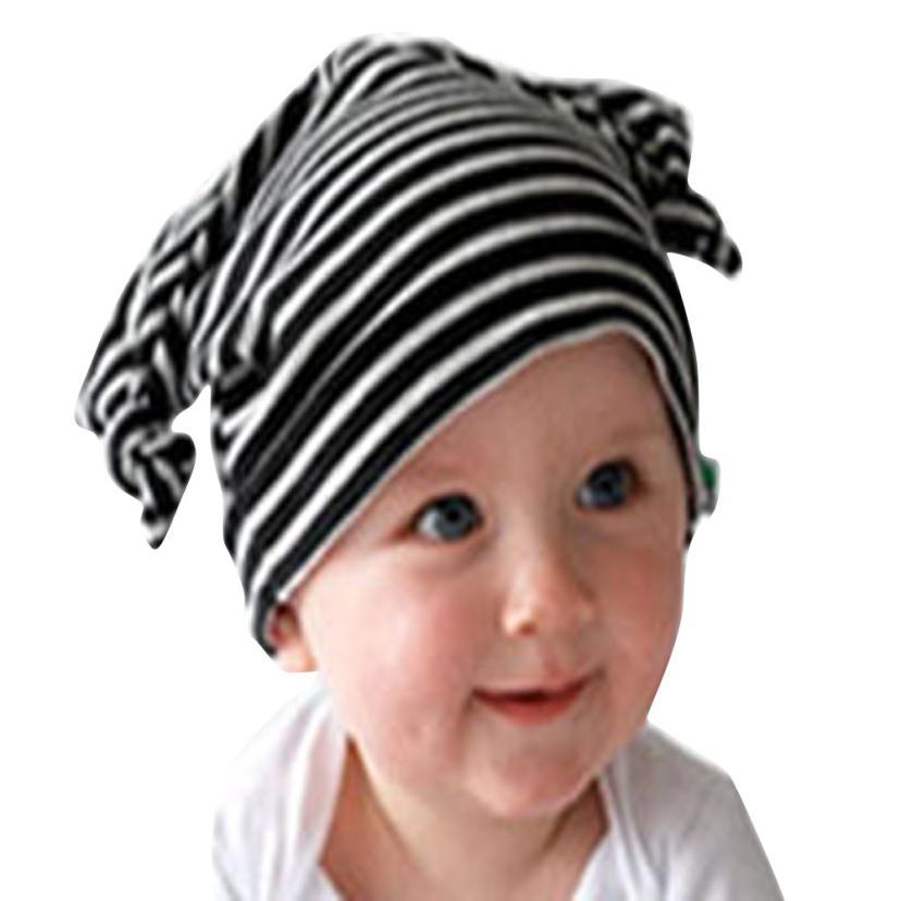 Toddler Long Ears baby caps cotton Beanie Kids Hat Infant Cap Gorro Infantil Fotografia Newborn HATS #CKS